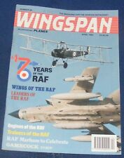 WINGSPAN MAGAZINE APRIL 1993 - 75 YEARS OF THE RAF