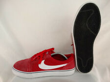 0bad89f5fe Nike SB Satire II Leather Canvas Sneaker 729809-610 rot-weiß EU 41 US
