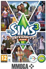 Les Sims 3 University pack d'extension University Life Addon PC Origin - EU & FR