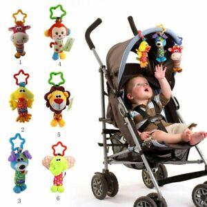 NEWBORN BABY Rattle toy Hand Bell Early Intelligence Development BABY STROLLER 1