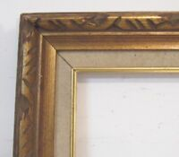 AMERICAN ART & CRAFTS HAND CARVED WOOD FRAME FOR PAINTING  24 X  18  INCH