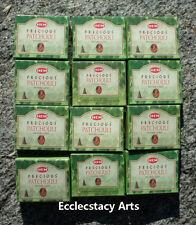 Hem Precious Patchouli Incense 12 x 10 Cone, 120 Cones, Patchouly Scent New {:-)