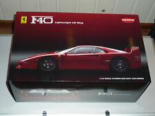 Ferrari f40 Light Weight avec le mans Wing Red Kyosho 1:12 Kyosho-Nº: 08602rlm
