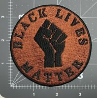 Black Lives Matter Embroidered Sew/Iron-On Patch BLM Protest I can't BREATHE