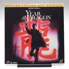 YEAR OF THE DRAGON LD Mickey Rourke John Lone Michael Cimino Widescreen CAV +