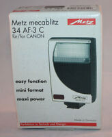 Metz, Mecablitz 34 AF-3 Digital Flash, Full Kit - NOS, Boxed, MINT
