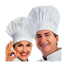 Colibrox Chef Hat, 2Pcs Adult Premium Adjustable Elastic Baker Kitchen Cookin.