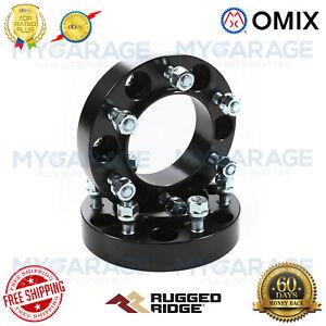 "Rugged Ridge For 96-14 Toyota Truck/SUV Wheel Spacer Kit 1.25"" Black - 15201.12"