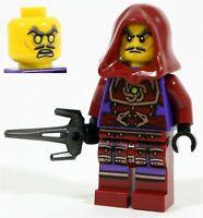 LEGO NINJAGO VILLAIN TOURNAMENT MASTER GHOST CLOUSE MINIFIGURE - NEW GENUINE