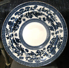 Gorgeous Coalport dish in Blue and White approx 8.5ins diameter