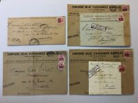 CMM7) Belgium, German Occ. WW1, covers parcel fronts, newspaper wrapper