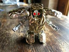 Vintage Gobots Golden Rock Lord Transforming Robot Toy