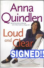 ANNA QUINDLEN (NY Times Columnist) signed 1st edition book 2004 Hard Cover w/DJ