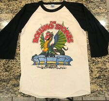 Vintage Original 1981 The Rolling Stones Tour Live in Concert T-Shirt 3/4 XL