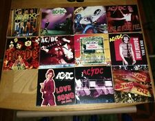 "AC⚡DC * RARE SET OF 11 AUSSIE SLEEVES for AUSSIE SINGLES - 7""  RECORD DREAMS⚡⚡⚡"