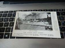 More details for postcard  p8 d24 tyne general ferry company advertising postcard newcastle  a