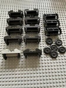 LEGO Eisenbahn 9v System Achse Felge Zug Waggon