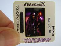 Original Press Promo Slide Negative - Aerosmith - Steven Tyler & Joe Perry - B