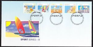 Australia 1990 Sports  APM21890 5 stamps First Day Cover