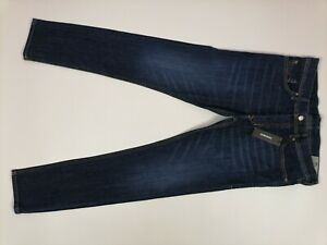 Mens Diesel Tepphar Jeans (084NR) W31 L32 Slim Carrot Fit Stretch Blue BNWT