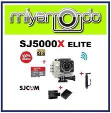 SJCAM Original SJ5000X WiFi Action Camera (Silver)+Monopod+16GB+Battery+Charger