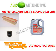 PETROL OIL AIR FILTER KIT + FS 5W40 OIL FOR RENAULT CLIO 1.2 77 BHP 2005-12