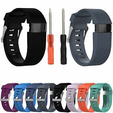 For Fitbit Charge HR Sports Silicone Watch Band Strap Wrist Bracelet With 2 Tool