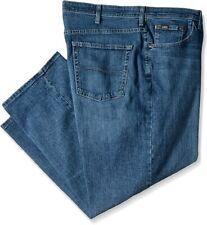 Lee Men's Big & Tall Custom Fit Loose Straight Leg Jean, RIC, 52W x 28L