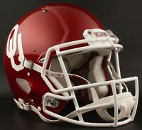 BAKER MAYFIELD Edition OKLAHOMA SOONERS Riddell AUTHENTIC Football Helmet NCAA