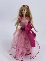 vintage 90's  Mattel Barbie doll 1998 head 1999 body dress included
