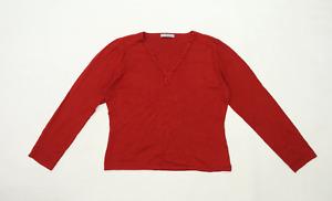 Marks & Spencer Womens Size 16 Red Jumper (Regular)