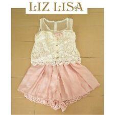 Liz Lisa Rompers Lolita Hime Gyaru shibuya109 Very Cute (a278)