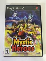 Mystic Heroes Playstation 2 Game Complete