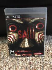 Saw - Sony PlayStation 3 PS3 Complete Game Horror Konami Jigsaw