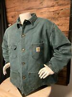 Vintage.Carhartt Mens Chore Jacket Size  2- XL Reg.