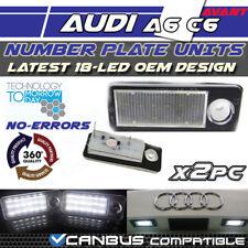 * x2 AUDI RS4 A4 B5 A6 RS6 Avant Luz LED Licencia Número De Matrícula Unidades libre de errores