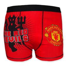 Manchester United FC - Calzoncillos oficiales de estilo bóxer - Para niños