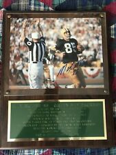 Max McGee Green Bay Packers Super Bowl Signed Autographed 8x10 Photo 1st TD COA