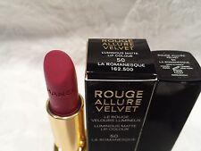 Chanel-Rouge Allure Velvet Luminous Matte FS Lipstick - #50 La Romanesque - NIB