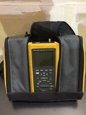 Fluke Networks LAN Cable Tester Digital and Meter DSP100 / DSP-SR with case/ AC