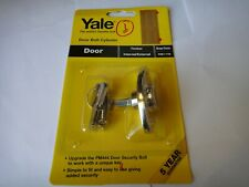 1 x YALE KEYED ALIKE OPERATED DOOR BOLT CYLINDER 8K117 BRASS FINISH - NEW