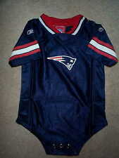 REEBOK New England Patriots nfl BABY INFANT NEWBORN CREEPER Jersey 18M 18 Months