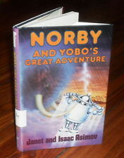 Isaac Asimov - Norby and Yobo's Great Adventure - HB/DJ 1st ed 1989
