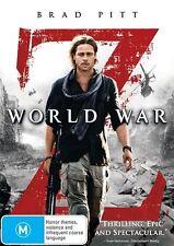 WORLD WAR Z Brad Pitt DVD R4