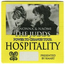 THE JUDDS 2000 Power To Change Tour Backstage Pass!!! Authentic Original OTTO