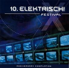 10. ELEKTRISCH FESTIVAL CD Absurd Minds ESC Die Perlen CYBORG ATTACK