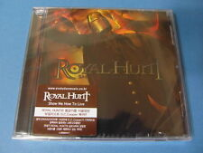 ROYAL HUNT - SHOW ME HOW TO LIVE CD (SEALED) $2.99 S&H