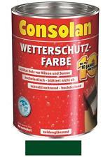 Consolan Wetterschutz-Farbe Moosgrün 10 Liter NEUWARE Art. Nr. 5087475