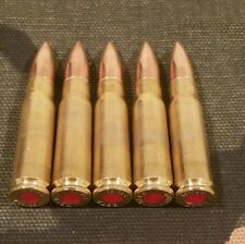"7.62x39 SNAP CAPS SET OF 5 ""SAFETY RED"""