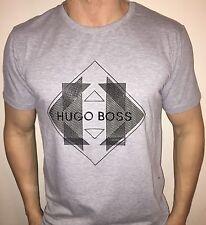 Hugo Boss BOSS Mens t-shirt Top Green Label BNWT New Grey size Large